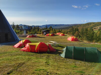Camping Dagali fjellpark / cheap accommodation in Norway