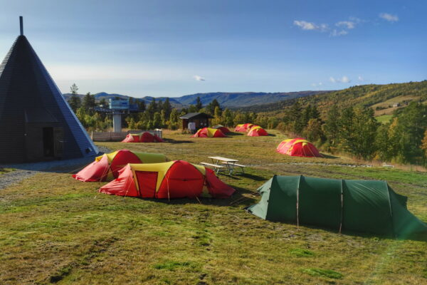 accommodation in Norway - camping in Dagali