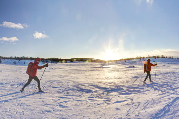 Cross Country Skiing Langren