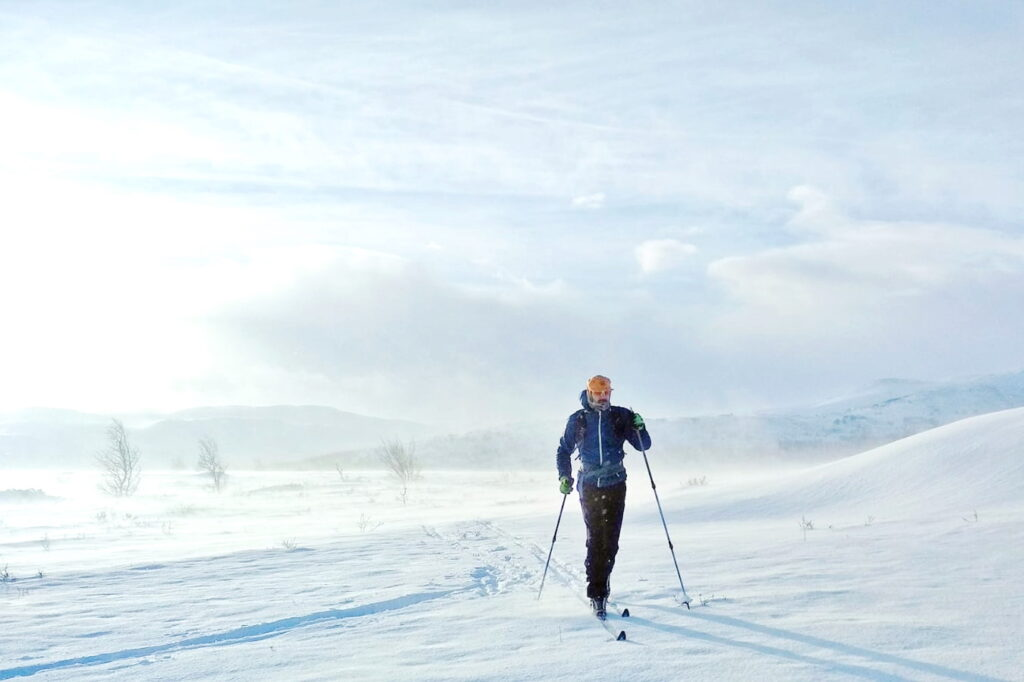 Cross Country Skiing Langren Cross-country skiing Geilo