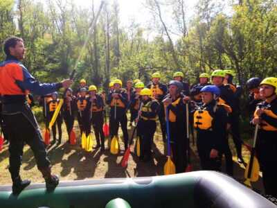 Company trips Dagali Norge rafting