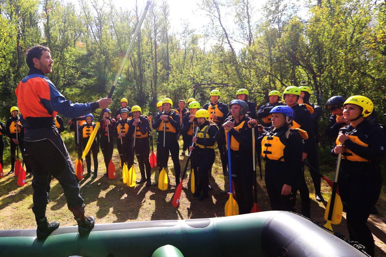 Company trips Dagali Norge rafting