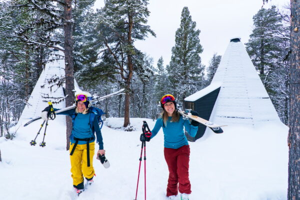 accommodation in lavvo overnatting i lavvo Family-friendly ski center in Norway