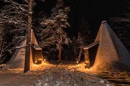 Lavvo camp Dagali fjellpark