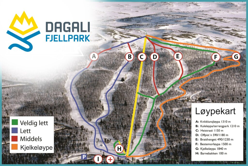 ski school at dagali fjellpark
