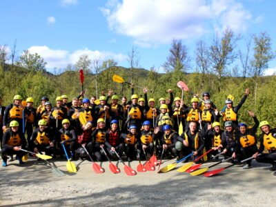Company trip in Norway Rafting in Norway Team building Dagali fjellpark outdoor EXPERIENCE