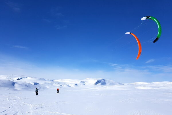 snowkite Geilo Norway kiteskiing Norge Hardangervidda