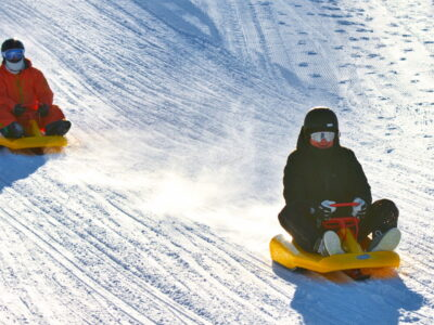 School trip ved Geilo in Norway - Sledding and Accommodation