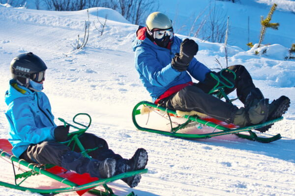Company trip in Norway - Sledding ved Geilo