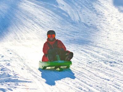 Aking, akebrett, Norges lengste akebakke - vinteraktiviteter i Buskerud