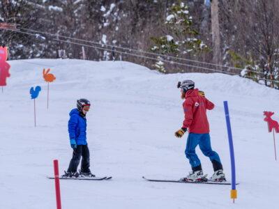 Alpinsenter med skiskole ved Uvdal og Geilo, i Dagali, Norge