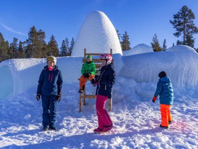 Familievennlig skisenter i Buskerud, Norge