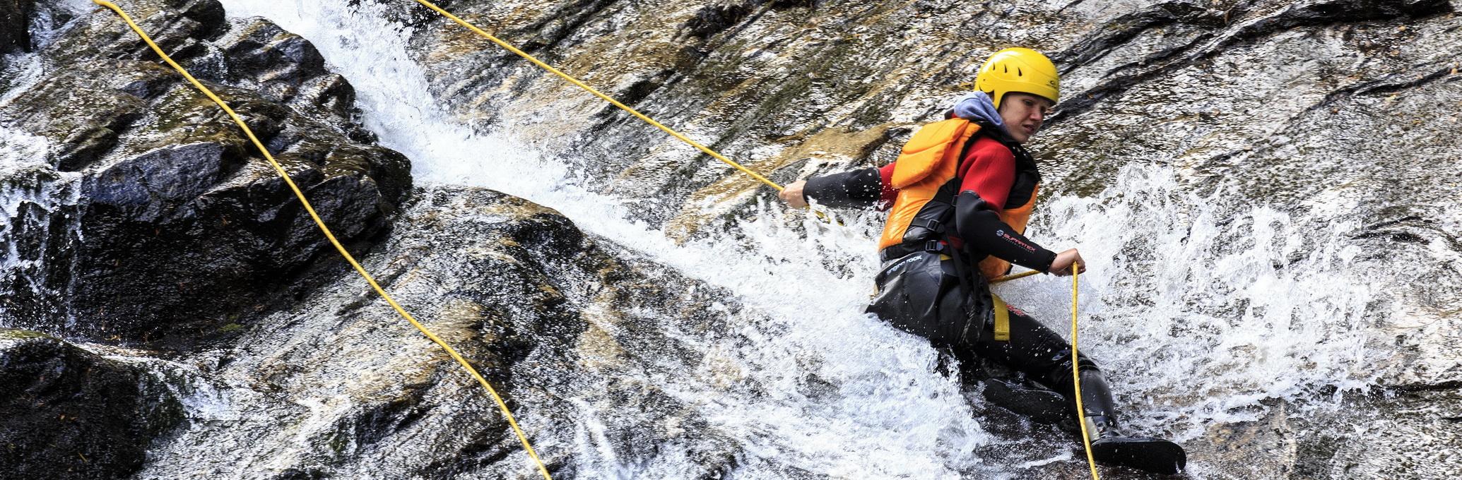 juving canyoning norge canyoning geilo juving alpene
