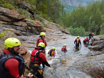 Canyoning in Norway - near Geilo in Dagali
