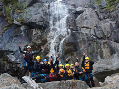 Canyoning in Norway - safety / sommerferie i norge