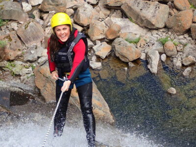Canyoning in Norway near Geilo / sommerferie i norge