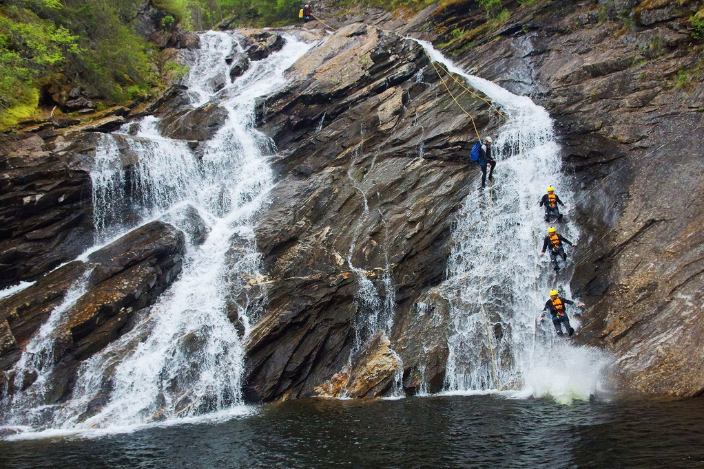 Canyoning in Norway with Dagali Fjellpark