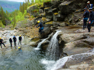 Canyoning in Norway Hardangervidda / Summer Adventure In Norway