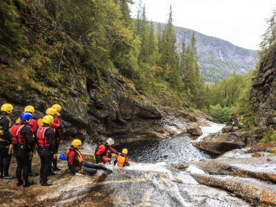Canyoning in Norway Geilo