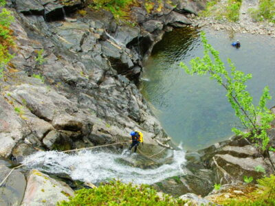 Canyoning in Norway in Dagali