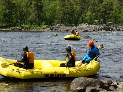 The best Rafting in Norway