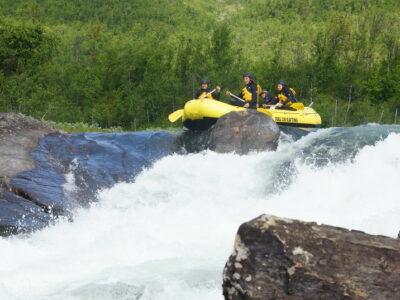 Surprise Surprise Rapid Norway whitewater rafting