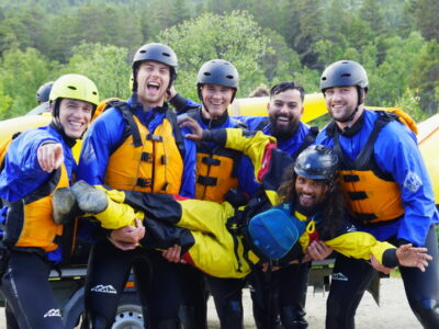 Extreme rafting Norway / Summer Adventure In Norway / sommerferie i Norge / friluftsliv
