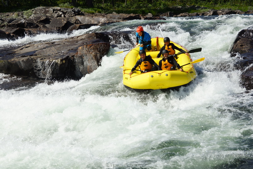 Extreme rafting Norway, Dagali