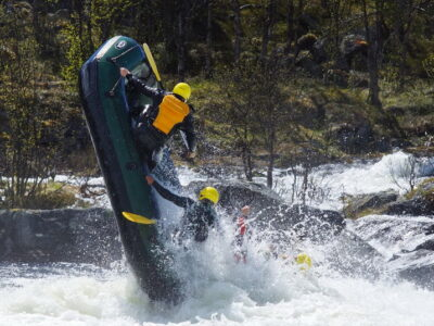 Extreme rafting in Norway