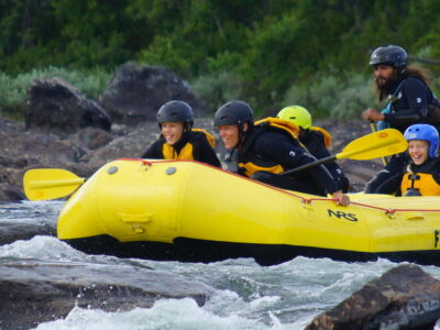 Family rafting in Norway Familierafting i Norge er best i Dagali