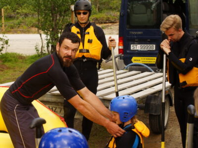Is rafting safe? Safety talk