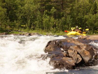 Hardangervidda rafting, classic rafting