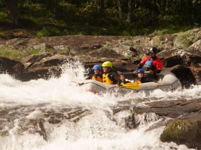 Classic rafting in Norway / sommerferie i norge