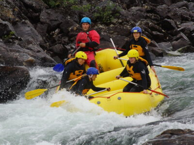 rafting in norway serious fun