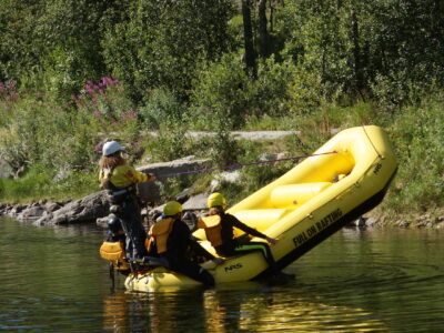 Serious fun rafting Dagali