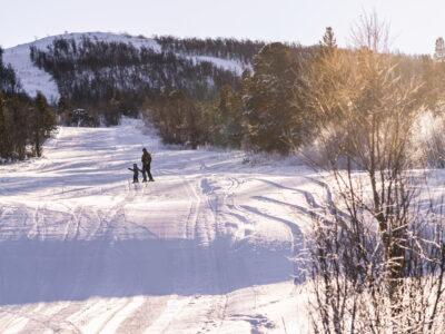 Skiing and Snowboarding near Geilo, Hardangervidda