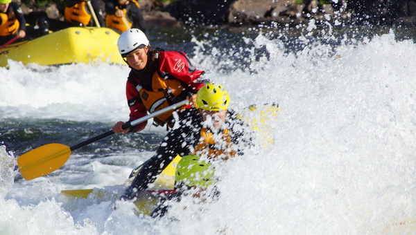 Numedalslågen rafting Wave surfing Dagali Fjellpark