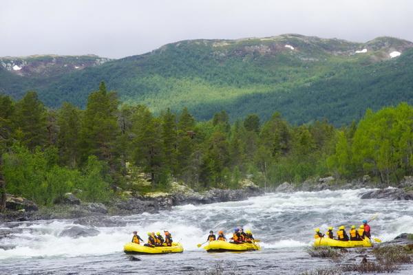 Dagali Fjellpark Dagali Rafting Geilo, Norway