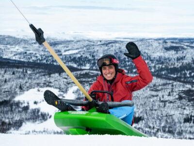 sled run from Oslo, Bergen