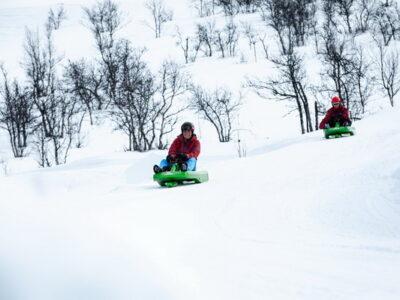 sledging Dagali near Geilo