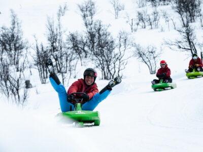 sledging Geilo, Dagali - ute med barn Geilo - friluftsliv - opplevelse vinter Geilo