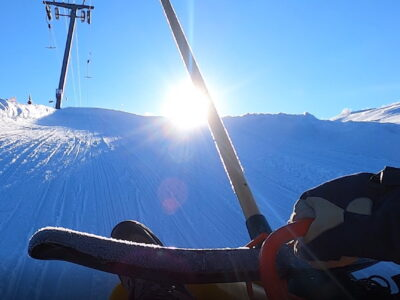 Akebakke i Dagali - kjelker NRK - aktivitet Geilo - moro geilo - action Geilo vinter