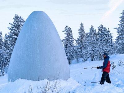 fun ice village in Norway