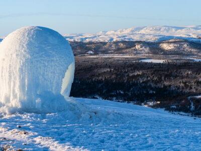 Family Friendly Ski Center in Dagali, Ice Village, Glamping - Polar Hen, by mjölk architekti