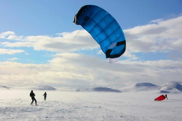 snowkite Hardangervidda best snowkite